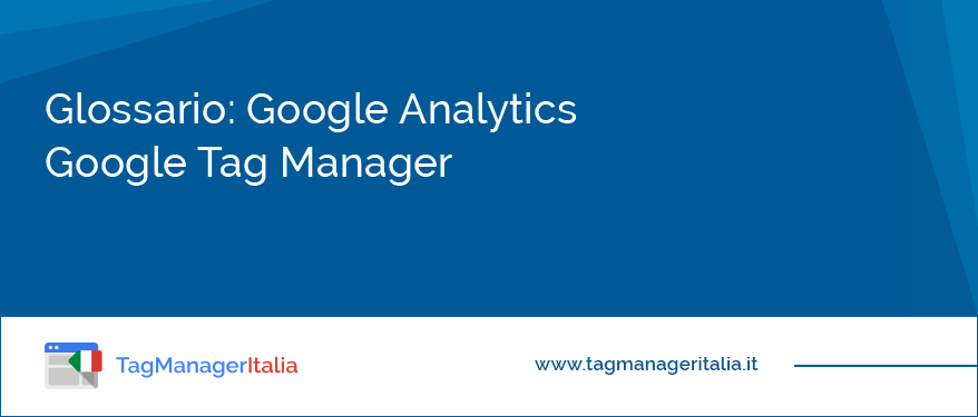 Glossario: Google Analytics