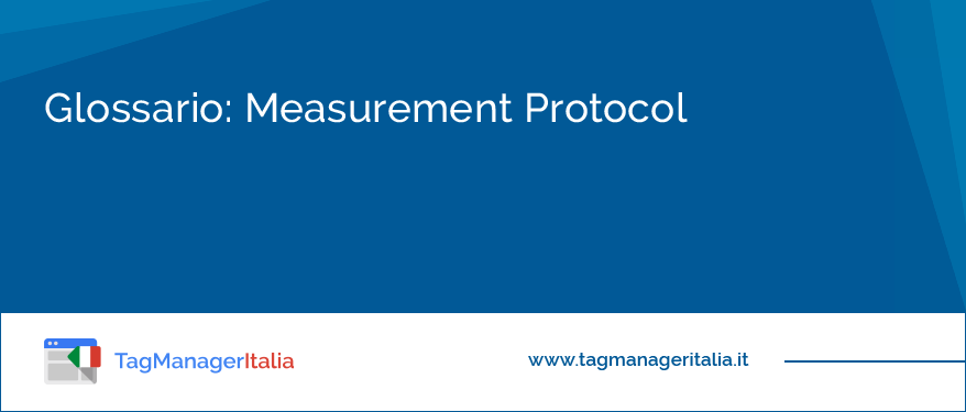 Glossario Measurement Protocol
