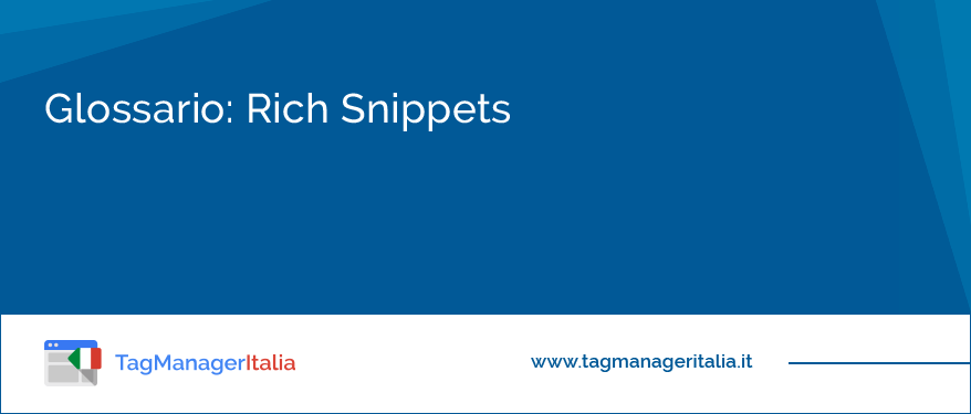 Glossario: Rich Snippets