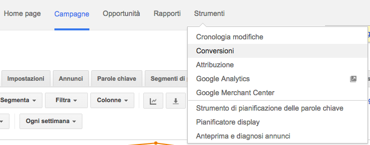 conversioni google adwords