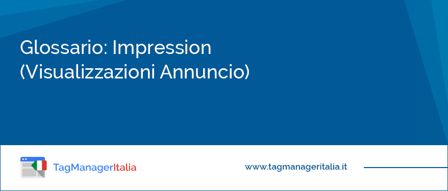 glossario impression adwords